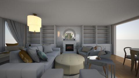Living room built in - Modern - Living room  - by milena_spasova