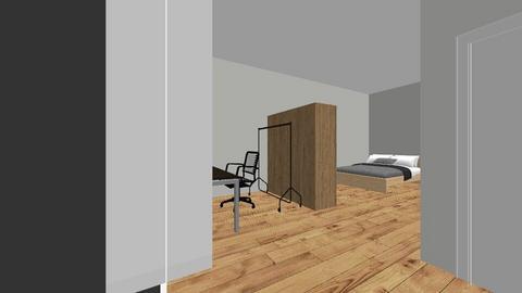 Future Room - Retro - Bedroom  - by gaspr