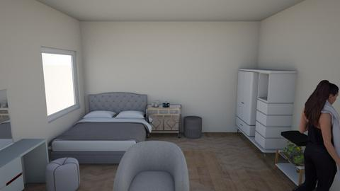 m - Modern - Bedroom  - by An4h1