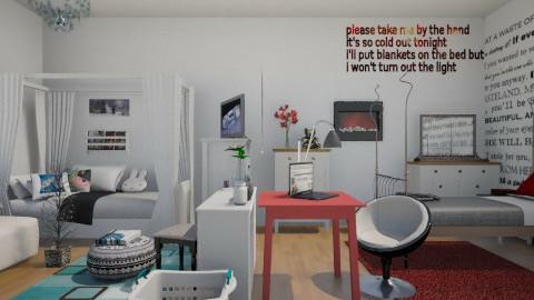 20 - Bedroom  - by sketchbookdesign