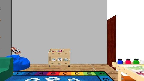 My dream Learning space - Kids room  - by MAREVALOFIGUEROA