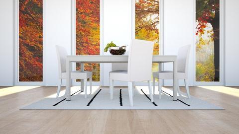Fire - Dining room - by Vanessa Aubrey