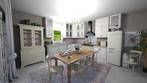 Shabby Chic Kitchen - Vintage - Kitchen - by jjp513