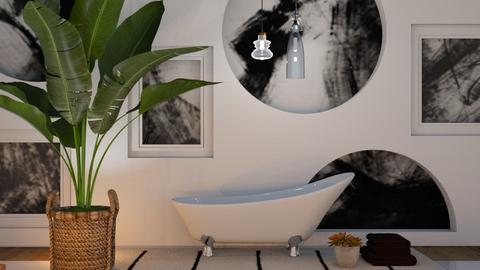 Art deco_black n white  - by FANGIRLdesigner