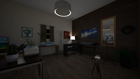 cuarto Itzel - Bedroom  - by Faustino1286