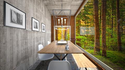 Dining - Modern - Dining room - by Atul Pratap