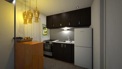 pl1 kitchen - Kitchen  - by qmdcarino