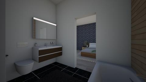 Second floor - Minimal - Bedroom  - by ShadySkills13