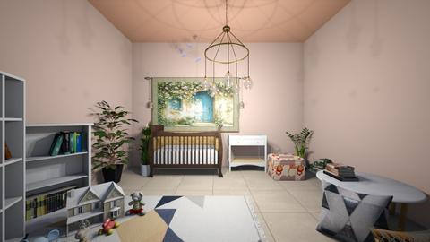 Simple Nursery build - Classic - Kids room  - by kiwimelon711