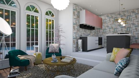 Overdimensioned - Living room - by House of Fritz