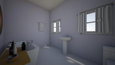 lavender  e  bathroom - Bathroom - by munchkinemory123