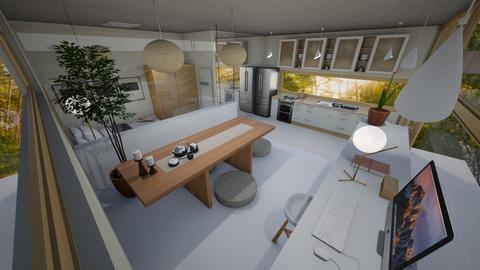 Japandi Small House - Minimal - by jafta