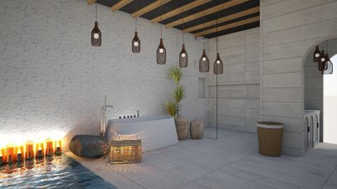 outdoor bathroom - Bathroom  - by pyntie