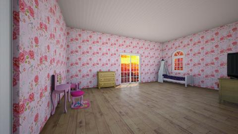 Princess bedroom - Glamour - Bedroom  - by RainbowCupcakes