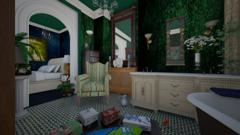M_Bohemian bath - Eclectic - Bathroom  - by milyca8