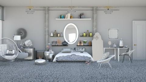 Silver Diamonds  - Modern - Bedroom  - by InteriorDesigner111