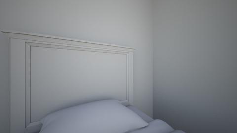 Cuarto 3D - Minimal - Bedroom - by thiagosouza_______