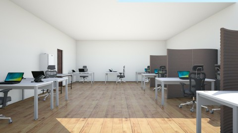 Campaign 930 office space - Minimal - Office  - by lisalpointer