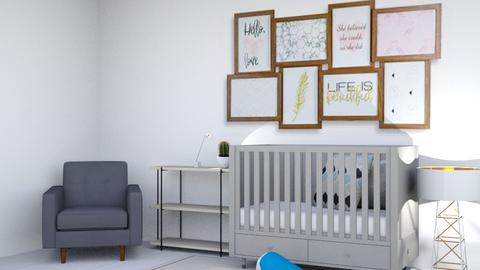 Baby Room - Kids room  - by Drachenmaedchen