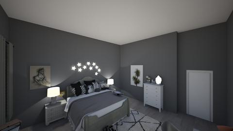blue room - Bedroom - by jennifer2004