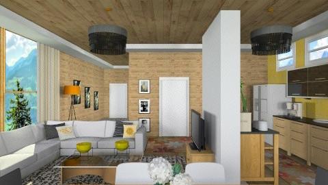 sunny days - Modern - Living room  - by vesperart