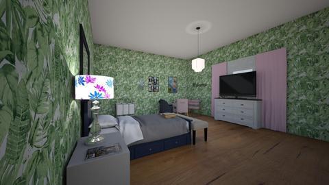 designer bedroom - by Alyssa the boss lady