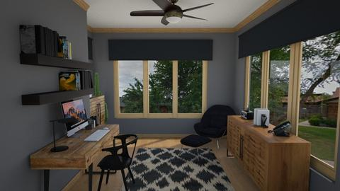 home office design - Office  - by Andrew Achkar Interiors