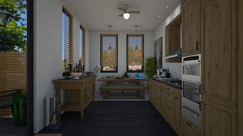 Tiny Kitchen - by Danielle_ML