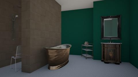 Home  - Bathroom - by katiebw