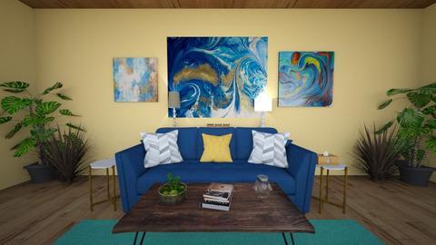 BLUEEE - Living room  - by Lexi B