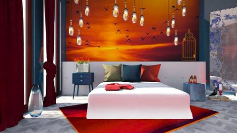 M_ Firebirds - Bedroom  - by milyca8
