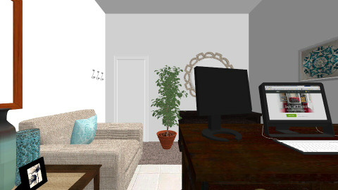 Renata Office 7 - Eclectic - Office  - by KGriffinGamu