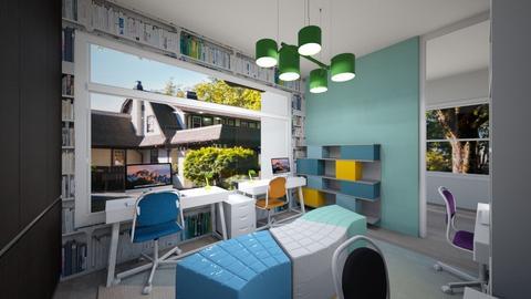 M Wu 2 - Living room  - by louisdhe