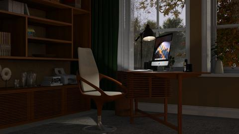 Home Office - Modern - Office  - by Claudia Correia