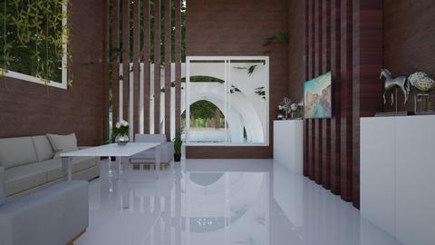 jungle Living room - Living room  - by nihalruttala
