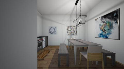 apartment kitchen - Kitchen  - by kph99