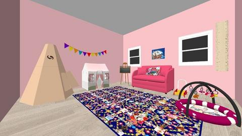 playroom  - Kids room  - by lilly goodwin