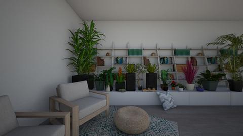 Indoor Garden - Garden  - by Idkwhy