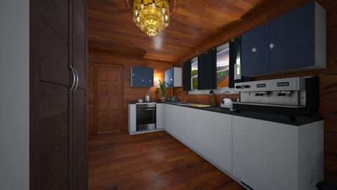 Kuchnia - Living room  - by Ironek