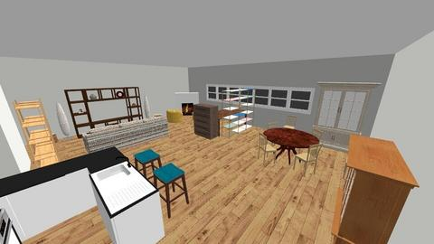 Loft Living Room 2 - by julianfred