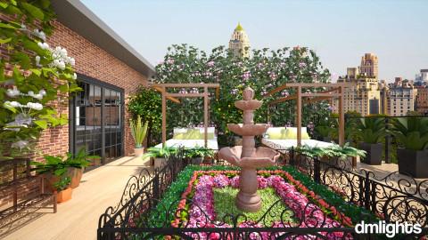 rooftop garden - Garden  - by DMLights-user-996689