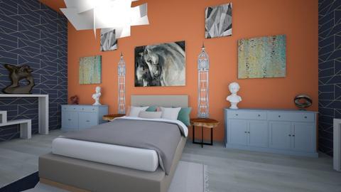 Maximalist Bedroom - Modern - Bedroom - by hi my name is bob