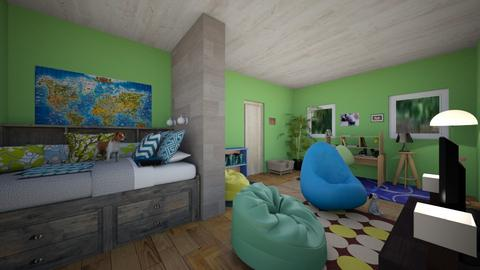 Dog  - Modern - Kids room  - by kaimunoz0600