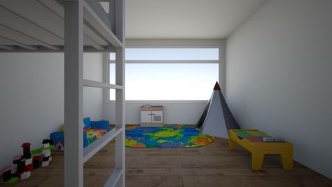 loft room - Kids room  - by Lilvamp13