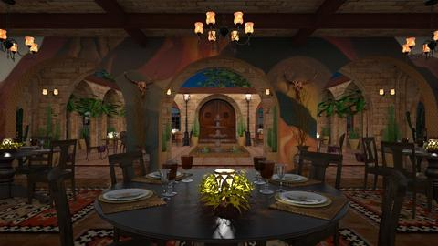 Design 459 O Keeffe Southwest Dining - Dining room - by Daisy320