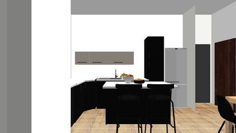 option 2 - Kitchen  - by Tama Balas Shitrit