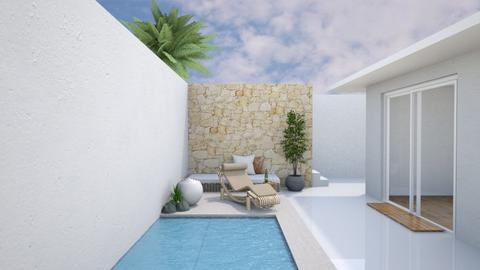 Pool Corner - Minimal - Garden  - by deleted_1599664823_fatihafitra