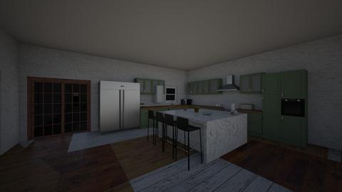 PARTE DE BAIXO  - Kitchen - by agatamnz