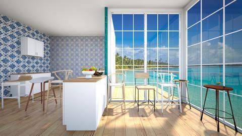ocean air - Minimal - Kitchen  - by Happyspaniel