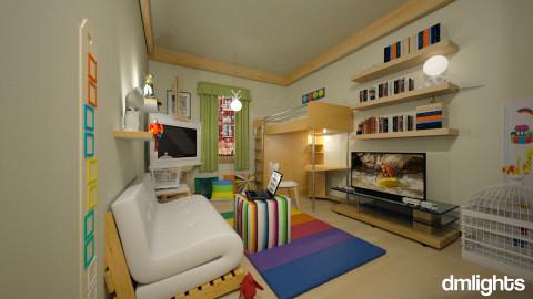 4 his little bedroom - Modern - Bedroom  - by LucretiaC